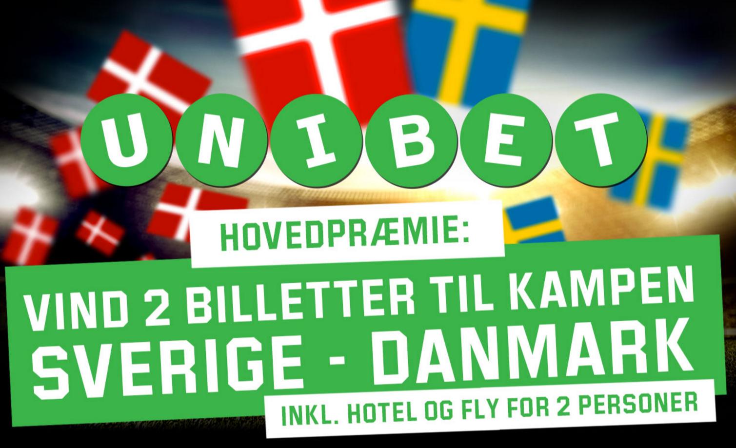 Vind billetter til landskampen mellem Sverige og Danmark